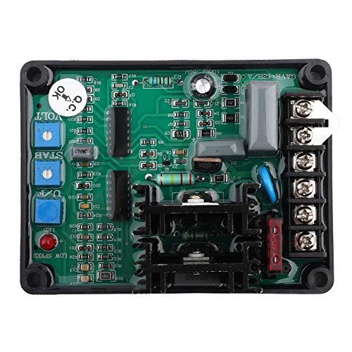 Controlador Automático de Regulador de Voltaje Para Piezas del Grupo Electrógeno del Generador GAVR-12A Protección de Sobrevoltaje Ajustable en Voltaje