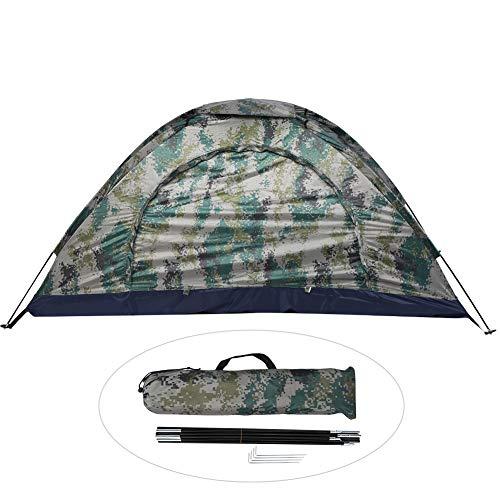 Outdoor Tent Eenpersoons Lichtgewicht Wind/Waterdichte UV-bescherming Tent met Draagtas voor Camping Klimmen Wandelen Reizen