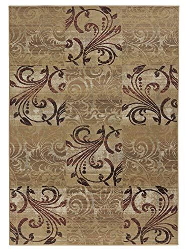 heine home pflegeleichter gemusterter Teppich in beige Tönen, Größe Teppiche:ca. 160 x 230 cm