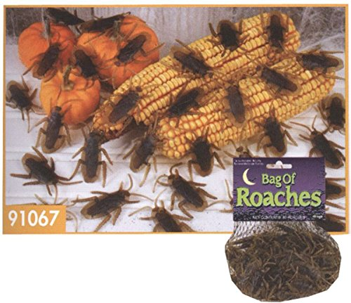 Bag Bag of Roaches of (80 count) cockroach (80 count) Halloween Size: (japan import)