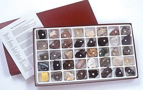 Hubbard Scientific Canadian Rock and Mineral Collection by American Educational Products
