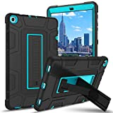 BENTOBEN Galaxy Tab A 10.1 Case 2019 T510/T515/T517, Heavy Duty Shockproof Three Layer Hybrid Protective Case Cover for Samsung Galaxy Tab A 10.1 Inch 2019 Tablet SM-T510 SM-T515 SM-T517, Black/Blue
