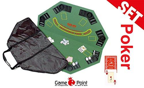 """Pokerauflage """"Gambler"""", ca. 122 cm. Durchmesser und ca. 11 kg schwer"""