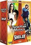 Coffret Bollywood 2 DVD : New-York Masala / Sholay