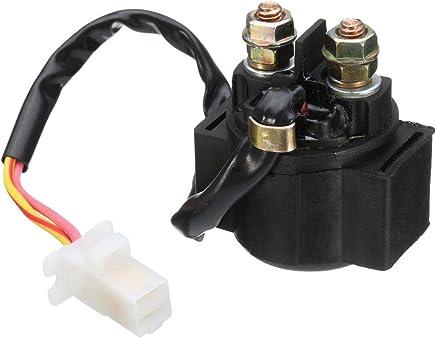 Tubayia 12V 150A Start Relais Starter Magnetventil f/ür Motorrad Roller RSV1000 RSV1000R