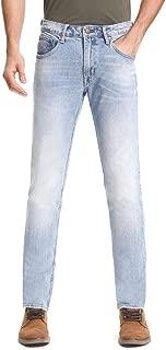 Men Slim Fit Jeans Premium Classics Stretch Jeans Mid Rise