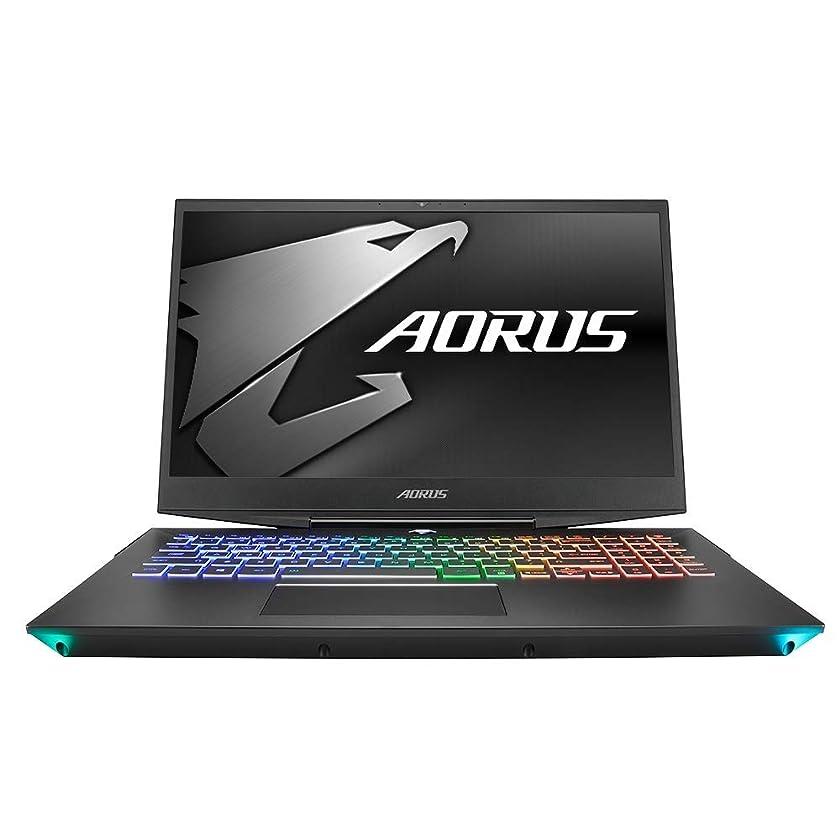 Gigabyte AORUS 15-XA-F74CDW Gaming and Entertainment Laptop (Intel i7-9750H 6-Core, 32GB RAM, 512GB PCIe SSD + 2TB HDD, 15.6