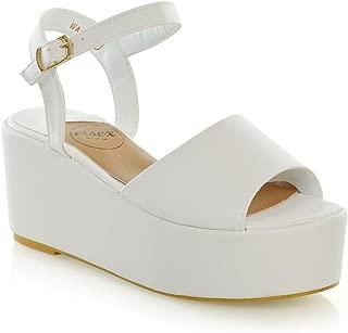 Best white suede platform heels Reviews