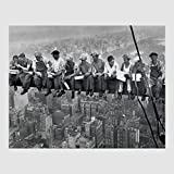 Kunstdruck Poster - Lunch on a Skyscraper lunch atop a
