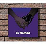 Zahuishile Major Lazer Musik Rapper Album Cover Stoff