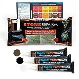 MagicEzy Stone Repairezy - (Beige Repair Kit) - Stone Fix - Granite, Marble,Travertine Crack Repair Kit - Fixes Damage Fast - Tiles and Countertops