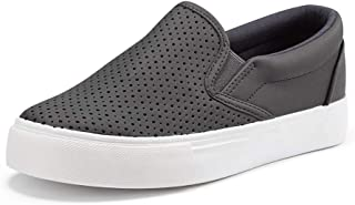 JENN ARDOR Women's Fashion Sneakers Perforated Slip on...
