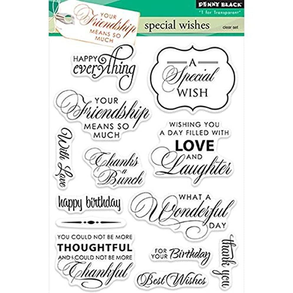 Penny Black 30-229 Special Wishes Decorative Stamp