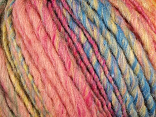 Lana Grossa - Olympia - Fb. 79 rosa/pink/petrol/gelb/lachs/khaki/grün/violett 100 g
