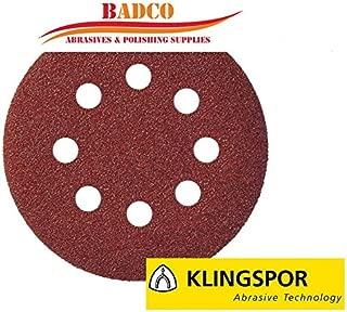 Klingspor 321645 K40 straightSMT 324Extra Abrasive Mop Disc 0 V 115 mm Green//Black