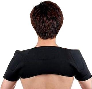 Back Brace Magnetic Tourmaline Heating Shoulder Support Wrap Therapy Protection Heat Shoulder Massage
