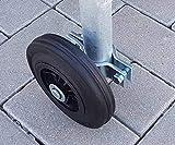 Laufrad für Bauzaun-Lauftor mit ...
