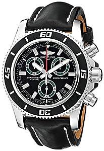 Breitling Men's BTA73310A8-BB75BKLT Superocean M2000 Analog Display Quartz Black Watch image