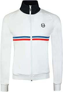 Sergio Tacchini Men's Dallas Track Jacket, White