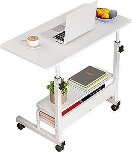 Portable Desk for Bedrooms Desks Home Office Furniture Study Desk Writing Desk Computer Stand Up Desks with Storage Work Desk for Small Spaces Desk Gaming Furniture Table,Desktop Size 31.5x15.7 Inch