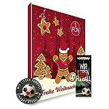Adventskalender, Weihnachtskalender deines Bundesliga Lieblingsvereins 2019 - Plus gratis Sticker & Lesezeichen Wir Lieben Fußball (1. FC Nürnberg Premium)