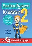 Sachaufgaben Klasse 2: Textaufgaben für Schulkinder DIN A4 - Jungen Edition