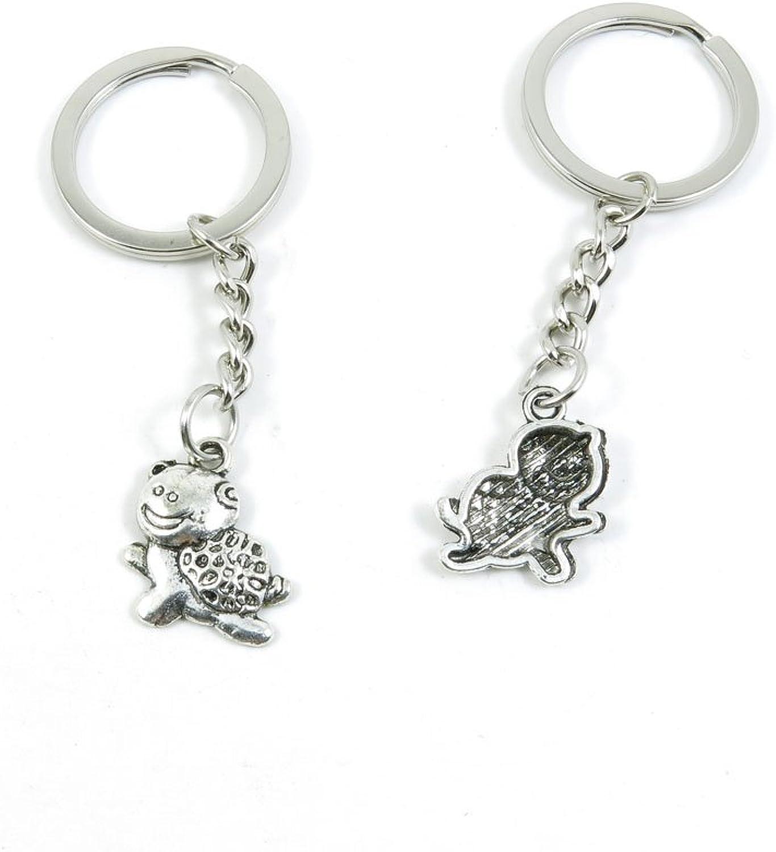 200 Pieces Fashion Jewelry Keyring Keychain Door Car Key Tag Ring Chain Supplier Supply Wholesale Bulk Lots W0WQ5 Cute Tortoise Turtle