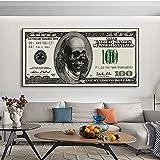 Schädel Geld Kunst Leinwand Druck Malerei Kreative