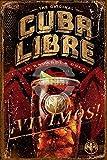 Finey Tin Metal Sign Wall Art Retro Shabby chic Cuba Libre
