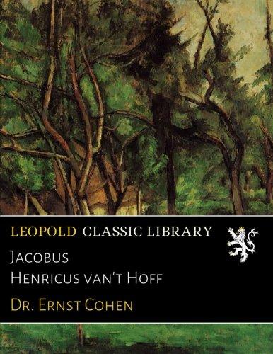 Jacobus Henricus van't Hoff