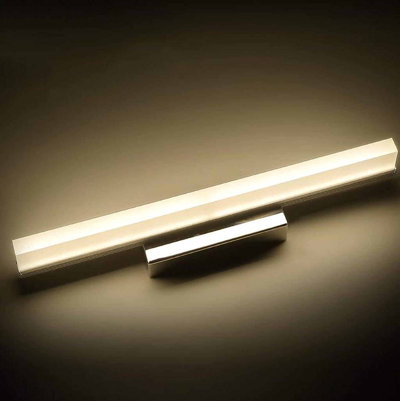 Badewanne Spiegel Licht Spiegel Vorne Leichte Einfache Kreative Badezimmer Spiegel Scheinwerfer Leuchten Led-Kommode Spiegelschrank Spiegel Wandleuchte (Farbe  Warmes Licht-42Cm)