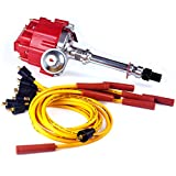 Brand New Ignition Distributor w/Cap & Rotor and Spark Plug Wires Ignition Combo...