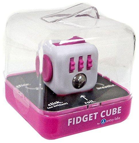 Fidget Cube Authentic Original Series 1 Pink & White