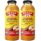 BRAGG ACV APPLE CINNAMON: Boost your energy levels during the day with this tasty Apple Cinnamon ACV drink! This zesty apple cider vinegar contains natural ingredients including Mother of Vinegar. ORGANIC INGREDIENTS: The Bragg ACV drink is raw, unfi...