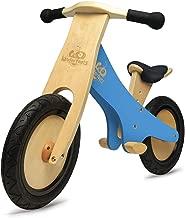 Kinderfeets Classic Chalkboard Wooden Balance Bike, Kids Training No Pedal Balance Bike