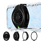 Taotuo Phone Cooler Cellphone Radiator with Dual Semi-Conductor Cooling Chip Suitable for All Types Cellphone from 4.5 to 7 Inches for Tiktok Live Streaming, Outdoor Vlog, Mobile Gaming
