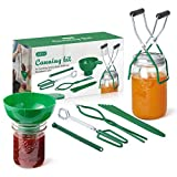 AIEVE Canning Kit Canning Supplies Include Canning Funnel, Jar Lifter, Jar Wrench, Lid Lifter,...