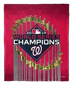 Northwest MLB Washington Nationals World Series Champions Silk Touch Throw