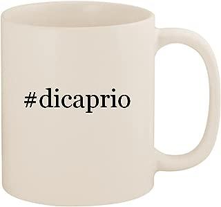 #dicaprio - 11oz Ceramic Coffee Mug Cup, White