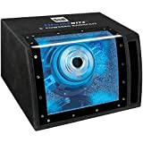 Dual Electronics SBP8A 8 inch illumiNITE High Performance Powered Enclosed Subwoofer with Built-in Amplifier & 160 Watts of Peak Power