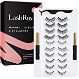 LashRay Magnetic Eyelashes with Eyeliner, 0-Pair Magnetic Lashes and Liner Kit, 1 Count