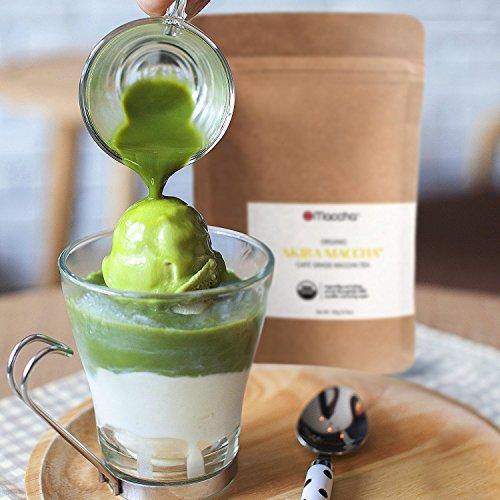 Matcha Green Tea Powder (Premium Culinary Grade) 150g (5.3 oz) – VALUE PACK, AKIRA Maccha is an Invigorating and Calming Maccha Tea Perfect for Lattes, Smoothies, and Savoury Recipes –Start Today