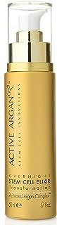Active Argan Oil Bonus Size Overnight Stem Cell Elixir Treatment 1.7 oz Anti Aging Argan Oil Serum