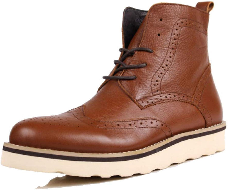 Mans skor Business England Korean Martin Boots Boots Boots Boots Casual Fashion Lace  Beställ nu med stor rabatt och gratis leverans