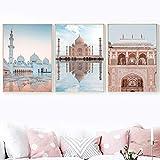 Marokko Sheikh Zayed Große Moschee Osttor Wandkunst