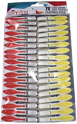 Kissral Lot de 100 Pinces /à Linge Color/ées Pince /à Ligne en Bois Mini Epingle /à Linge Clips Color/é D/écoratif M/émo Papier Photo Clip pour V/êtements Diy Photo D/écoration de Maison