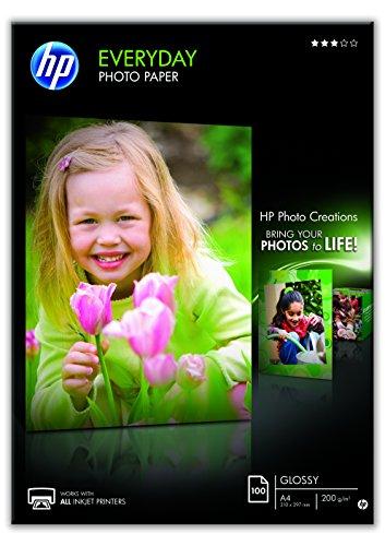 Hp Everyday Photo Paper Q2510A - Papel de fotografía...