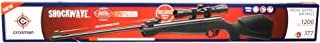 Crosman Shockwave NP Synthetic Stock Nitro Piston Hunting Air Rifle with 4x32 Scope