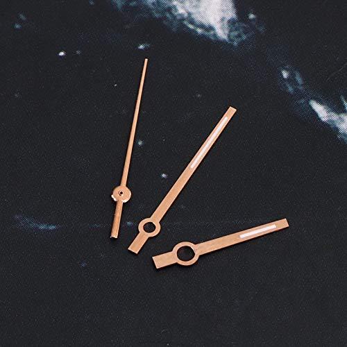 Accesorio de reloj Reloj de aguja Accesorio de reloj Reloj de mano ligero Piezas de reloj para movimiento 3135(Rose gold)