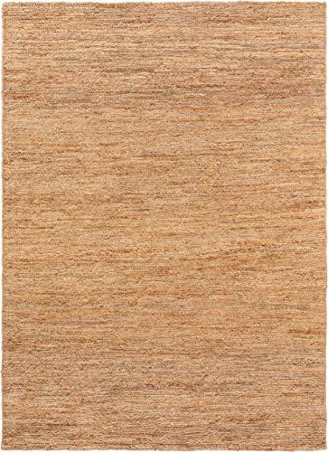 benuta NATURALS Juteteppich Cosmo Hellbraun 200x300 cm - Moderner Teppich für Wohnzimmer